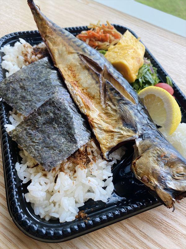 焼き鯖弁当