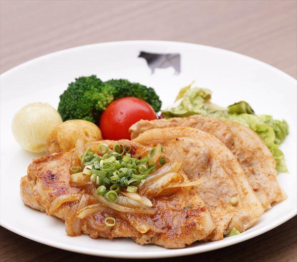 沖縄やんばる豚のジンジャーソテー弁当(スープ付き)