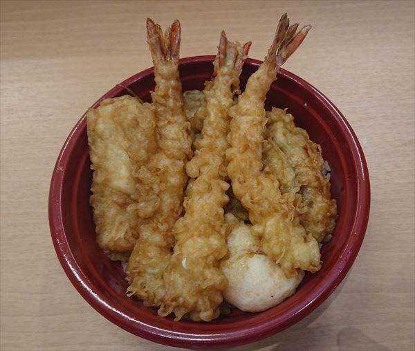 海老三本天丼