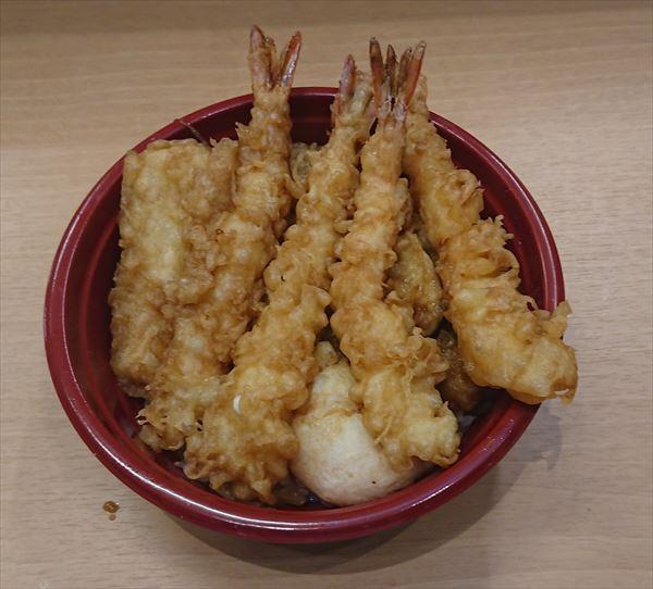 海老四本天丼