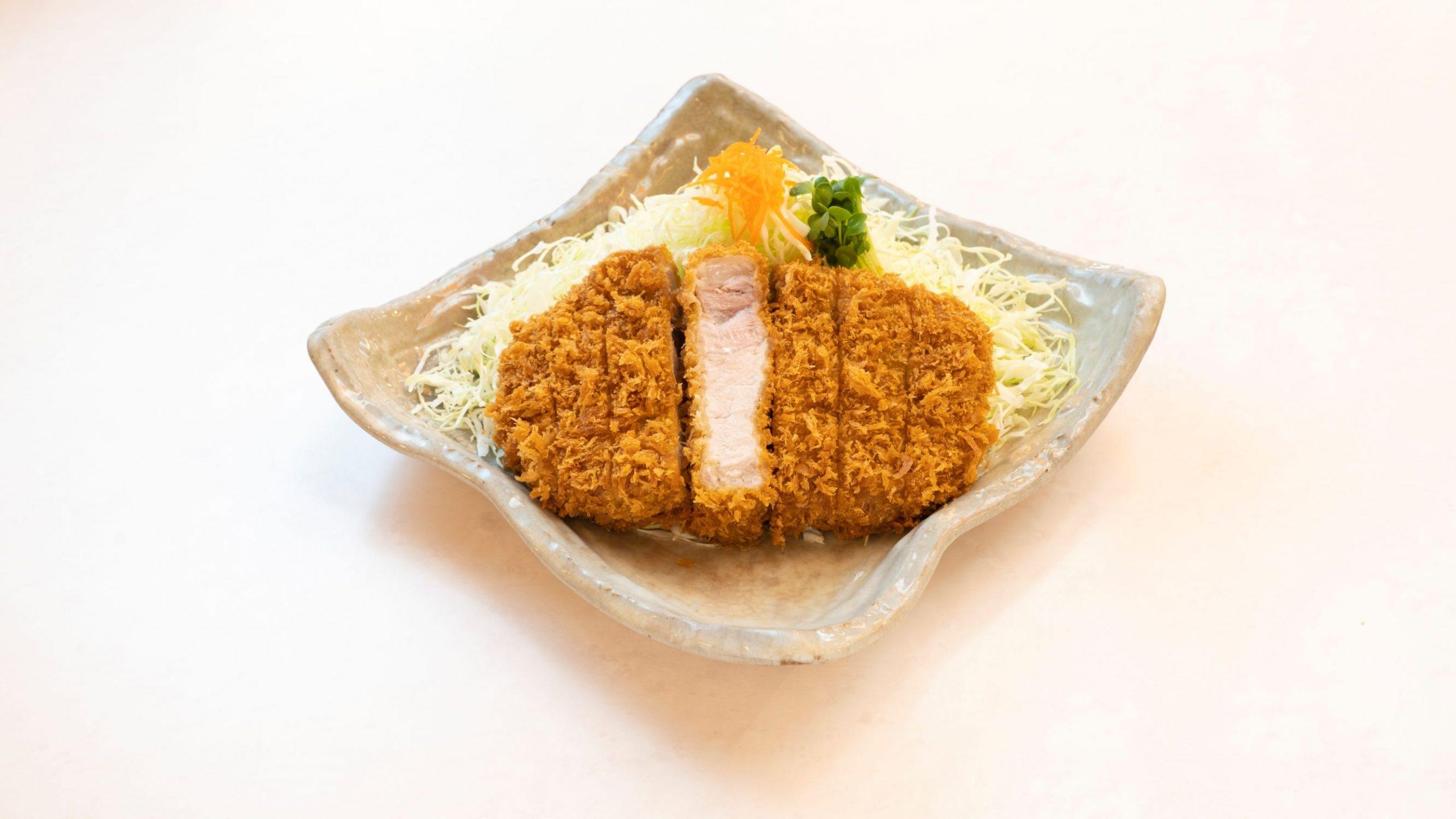 ロースかつ定食 (ジャンボ)