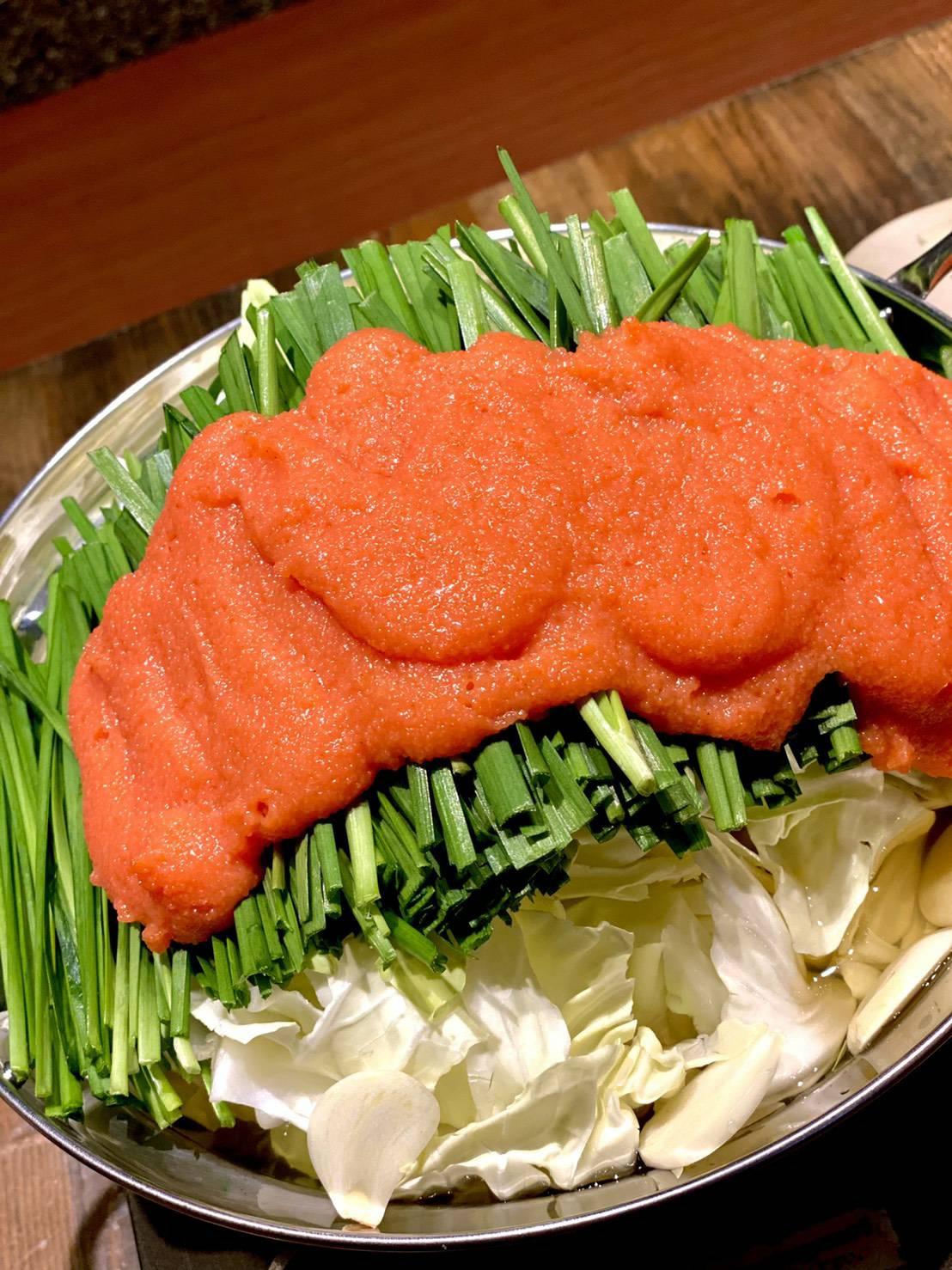 明太子モツ鍋(1人前)
