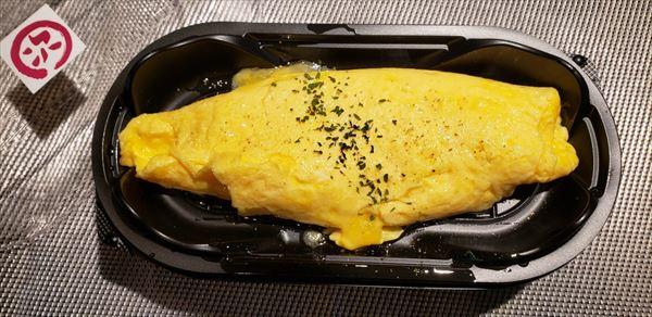 鉄板チーズオムレツ