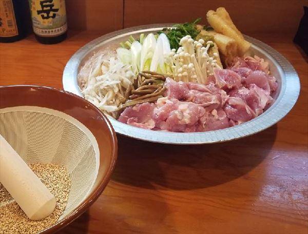 高砂部屋伝統の鳥ちゃんこ鍋