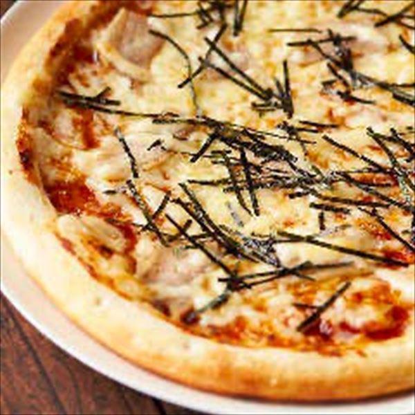 照り焼きマヨのピザ