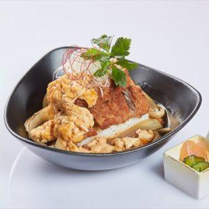 山原島豚あぐー ミルフィーユ カツ丼