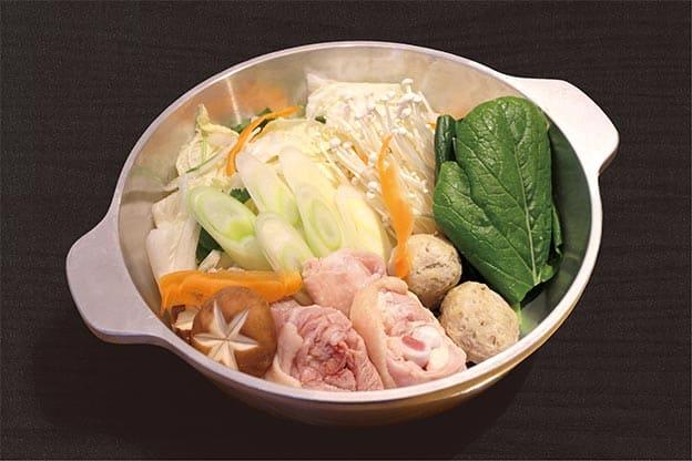 徳島県産地鶏 阿波尾鶏の濃厚白湯スープ鍋(1人前)