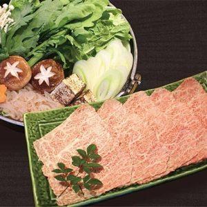 熊本県産天草黒毛和牛すき焼き