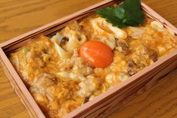 徳島県産地鶏使用 阿波尾鶏の親子丼(お吸い物付き)