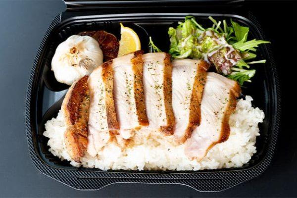 沖縄県産アグー豚のバター焼ステーキ弁当