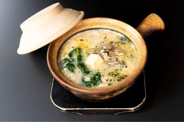 牡蠣チャウダーゆし豆腐(ライス付)