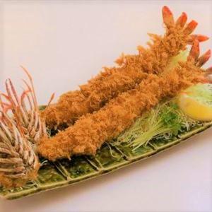 ジャンボエビフライ定食(2本)