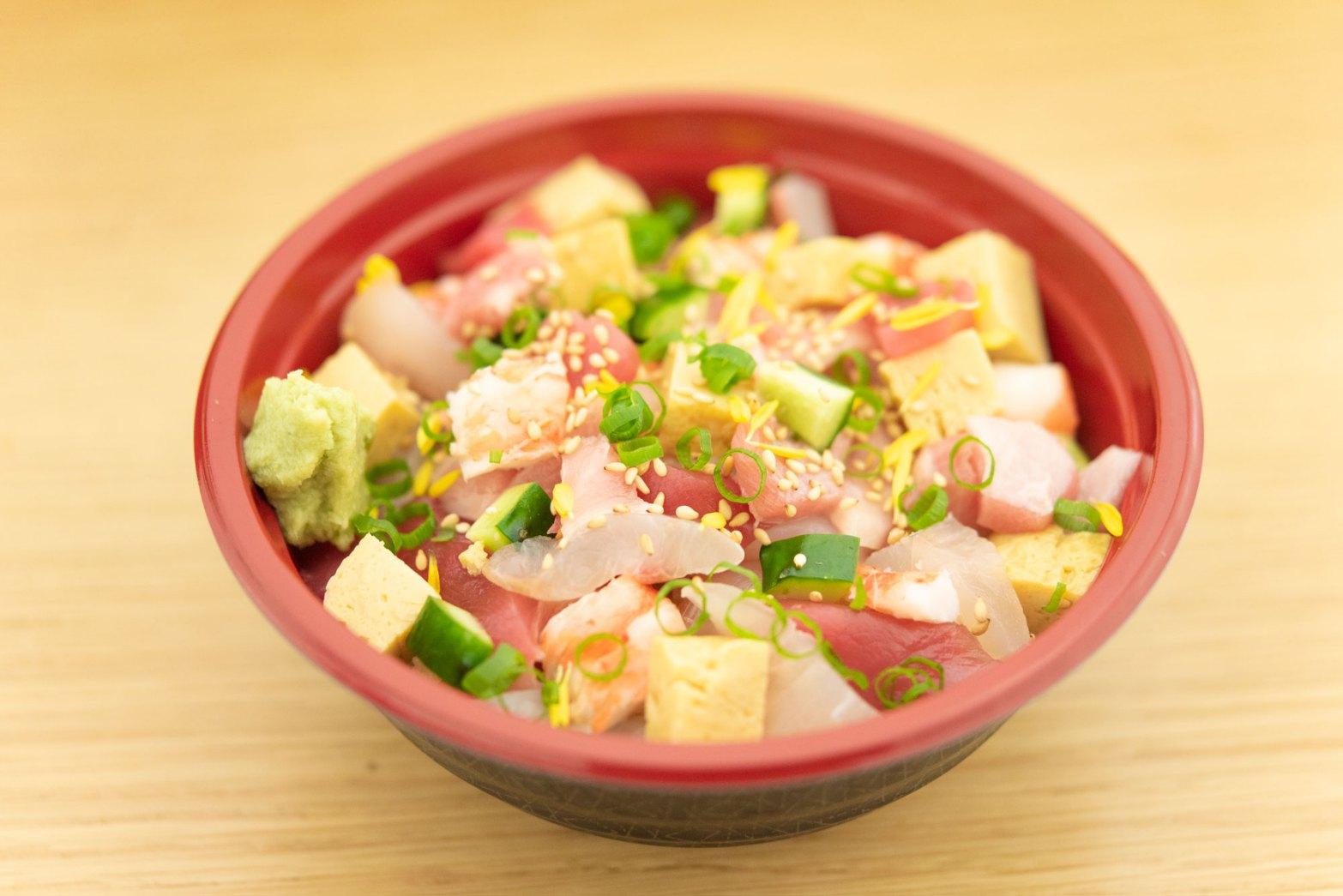 本格江戸前ばらちらし寿司