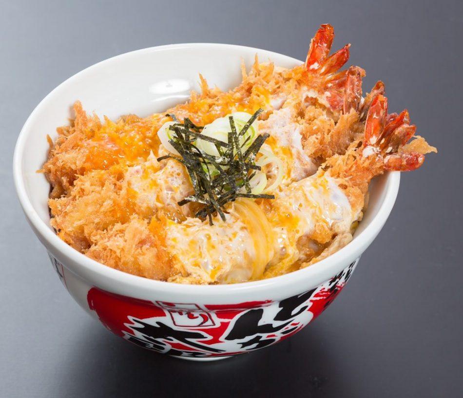 エビフライカツ丼