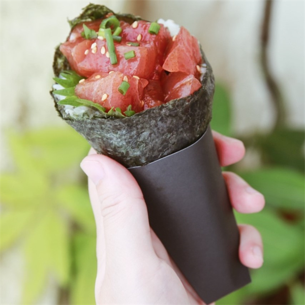 手巻き寿司(ピリ辛まぐろ)