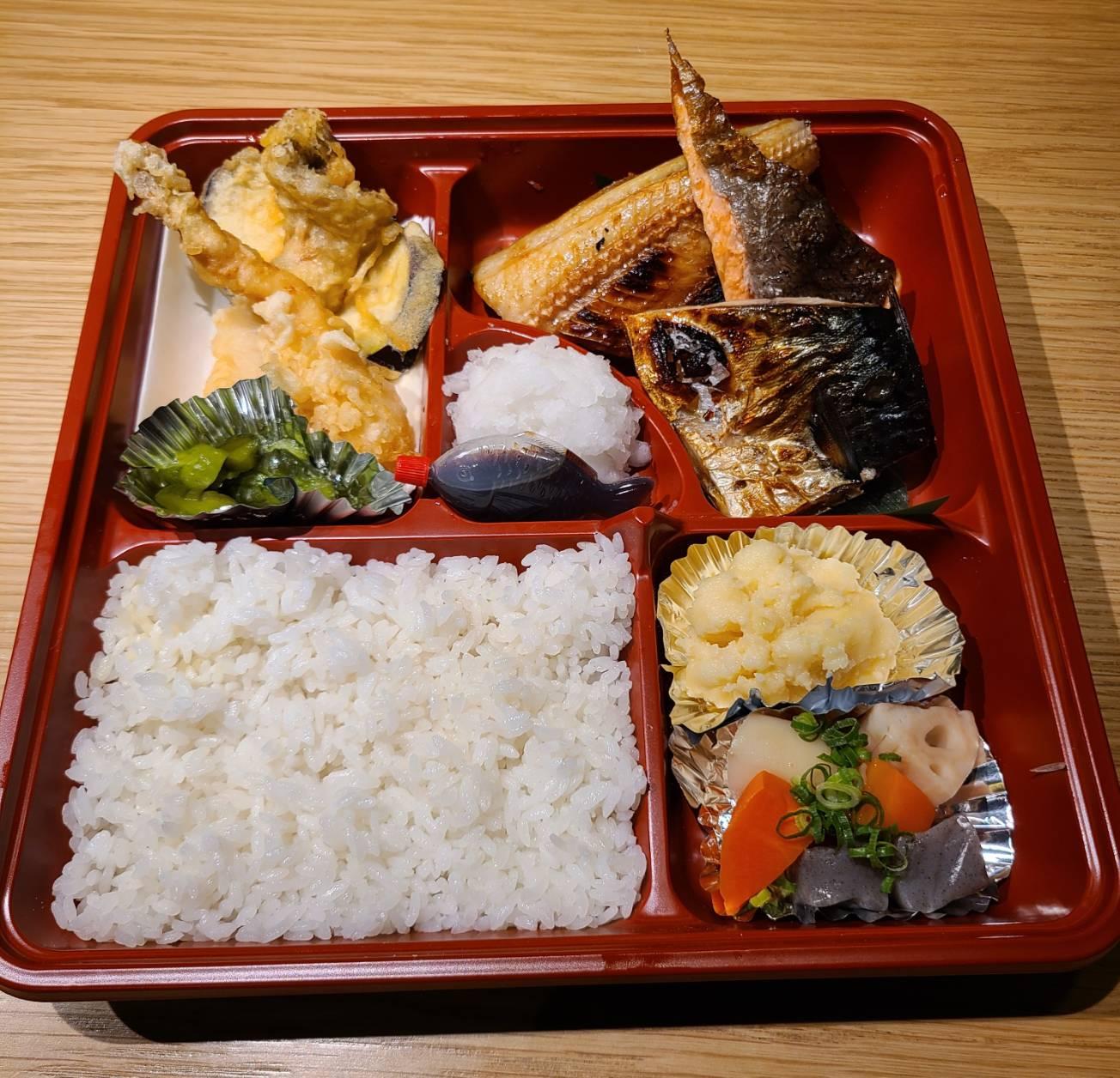 3種の贅沢焼き魚御膳
