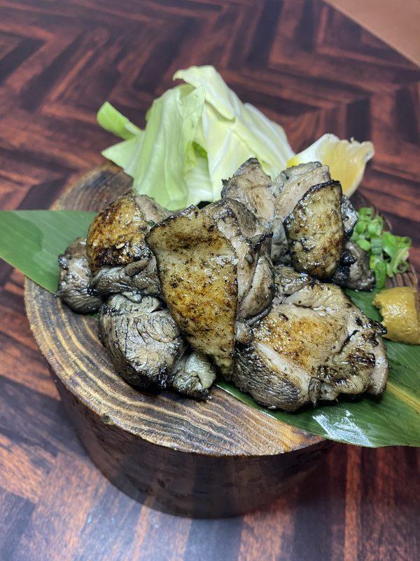 県産やんばる鶏の炭焼き