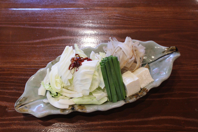 もつ鍋若杉用 追加野菜