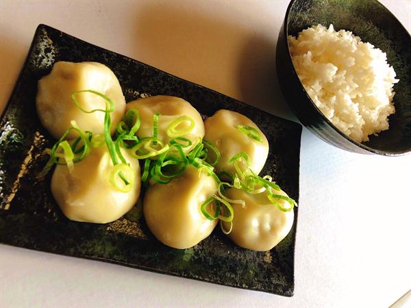 水餃子4個+ご飯セット