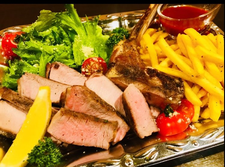 【ツボデリ限定】熟成豚の極圧トマホークステーキ
