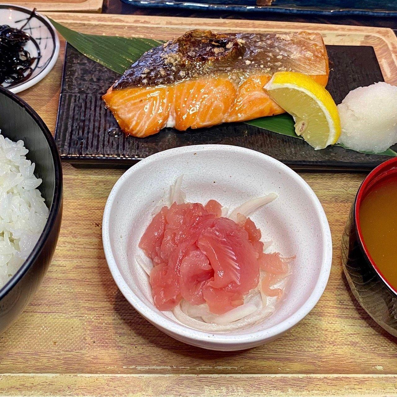 【ランチ限定】大判銀鮭の塩焼き定食