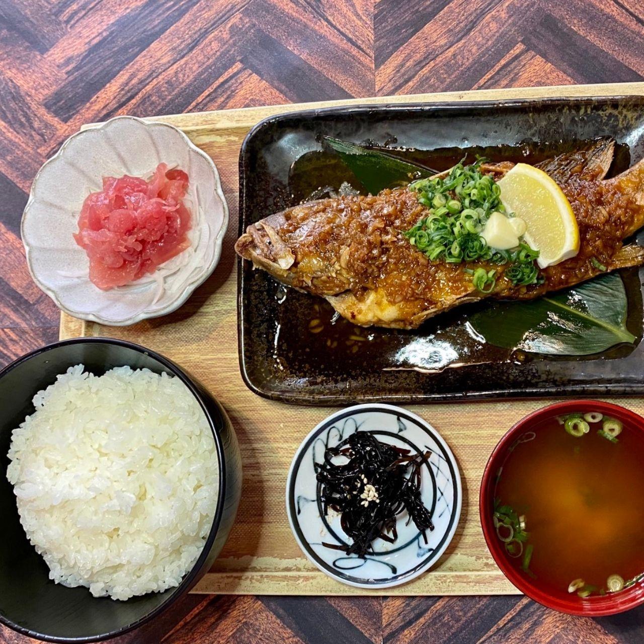 【ランチ限定】本日鮮魚のバター焼き定食