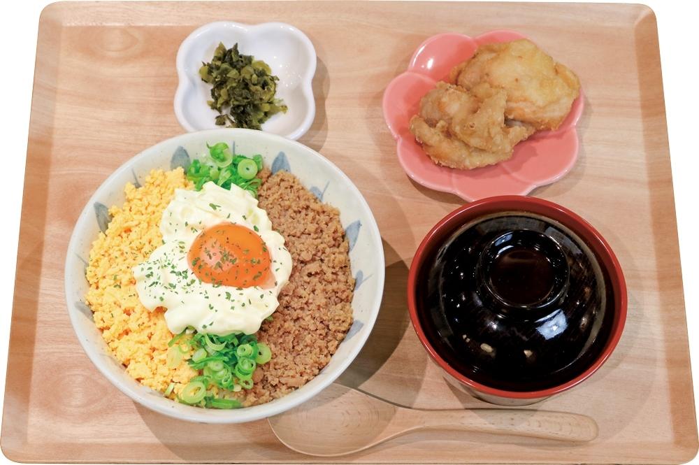 【定食】そぼろ2色丼