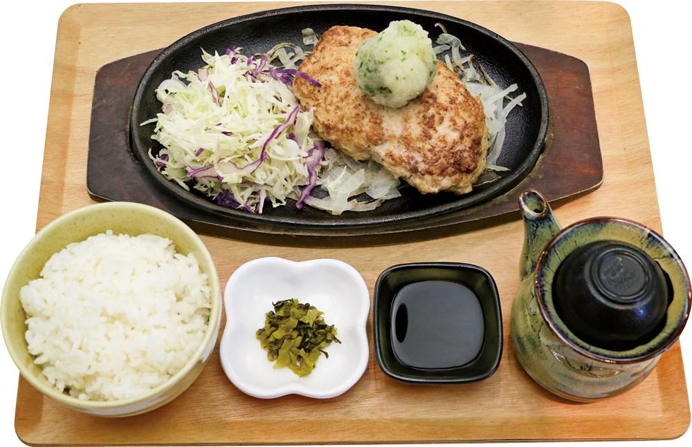 【定食】大葉おろしハンバーグ