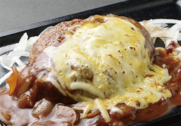 チーズハンバーグステーキ弁当
