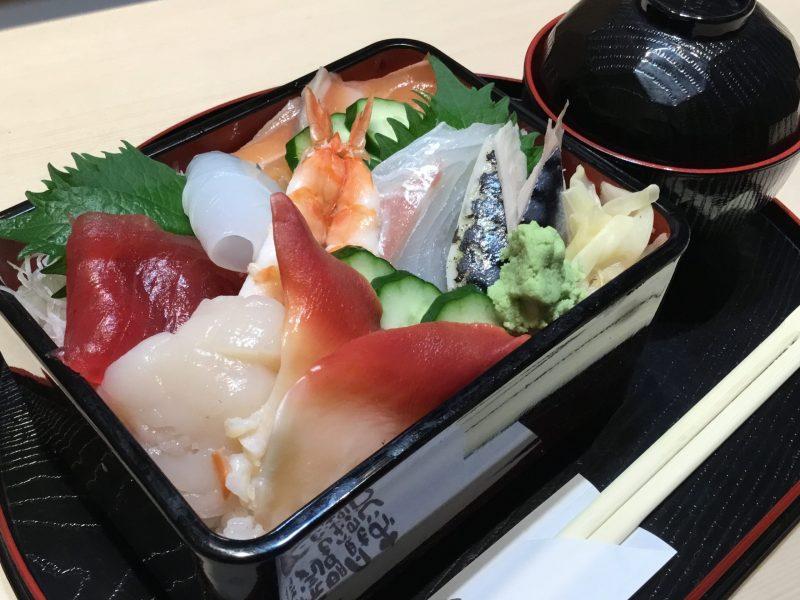 海鮮ちらし寿司重