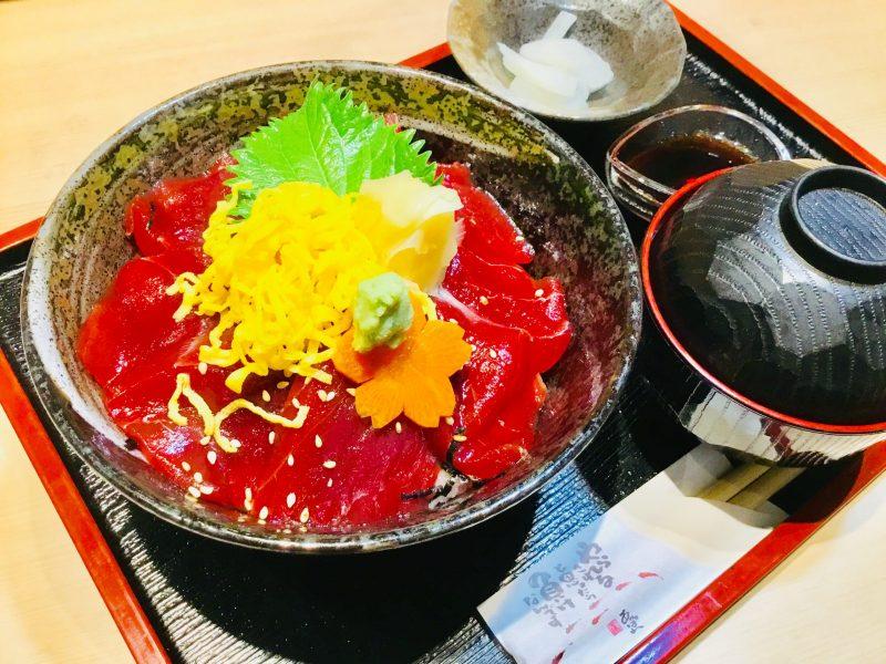 漬けマグロ丼弁当