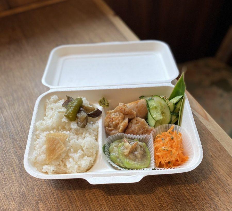 【曜日限定】宮崎県産鶏の塩焼き弁当