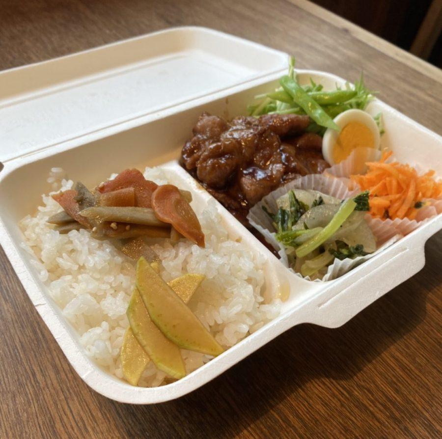 【曜日限定】県産豚の生姜焼き弁当